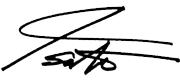 CEO署名
