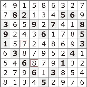 2月のナンプレパズル