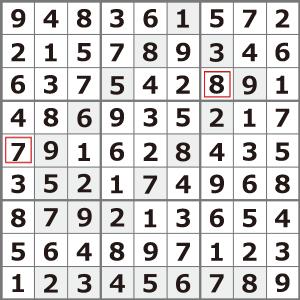 4月のナンプレパズル解答