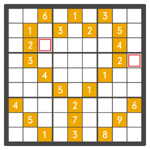 4月のナンプレパズル問題