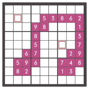 11月のナンプレパズル問題