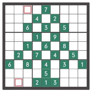 12月のナンプレパズル問題