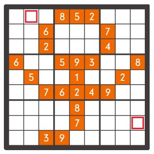 1月のナンプレパズル問題