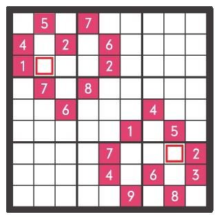 2月のナンプレパズル問題