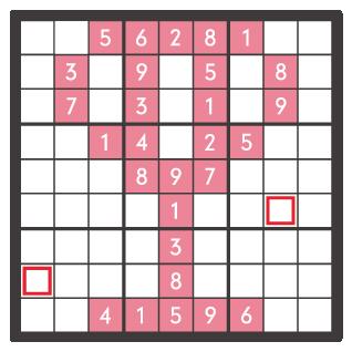 3月のナンプレパズル問題