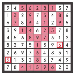 3月のナンプレパズル解答