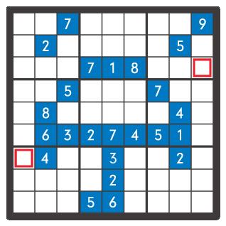 6月のナンプレパズル問題