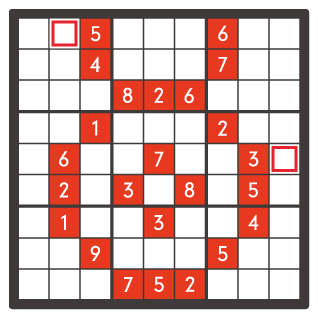 7月のナンプレパズル問題