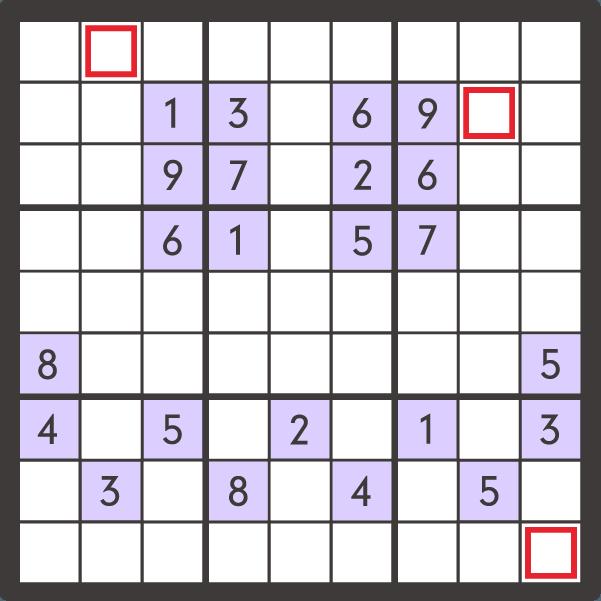 10月のナンプレパズル問題